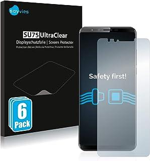 savvies Protector Pantalla Compatible con Cubot X18 Plus (6 Unidades) Pelicula Ultra Transparente