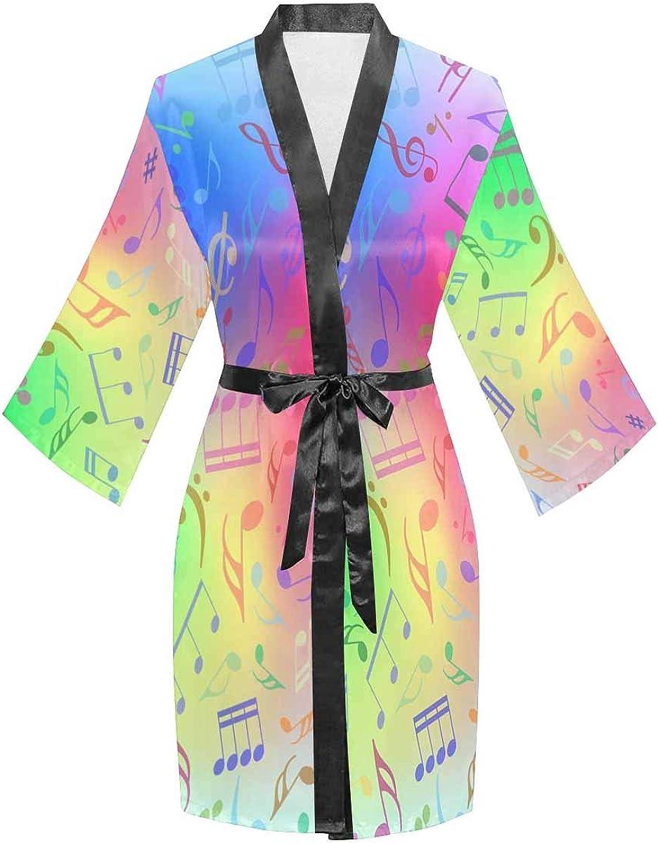 InterestPrint Women's Kimono Style Short Sleepwear Deluxe Lon Robe with Limited price sale