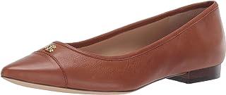 حذاء باليه مسطح حريمي من Lauren Ralph Lauren بلون بني داكن مقاس 6 B US