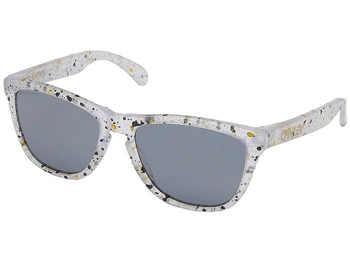 Oakley Frogskins (Splatter Clear) Sport Sunglasses