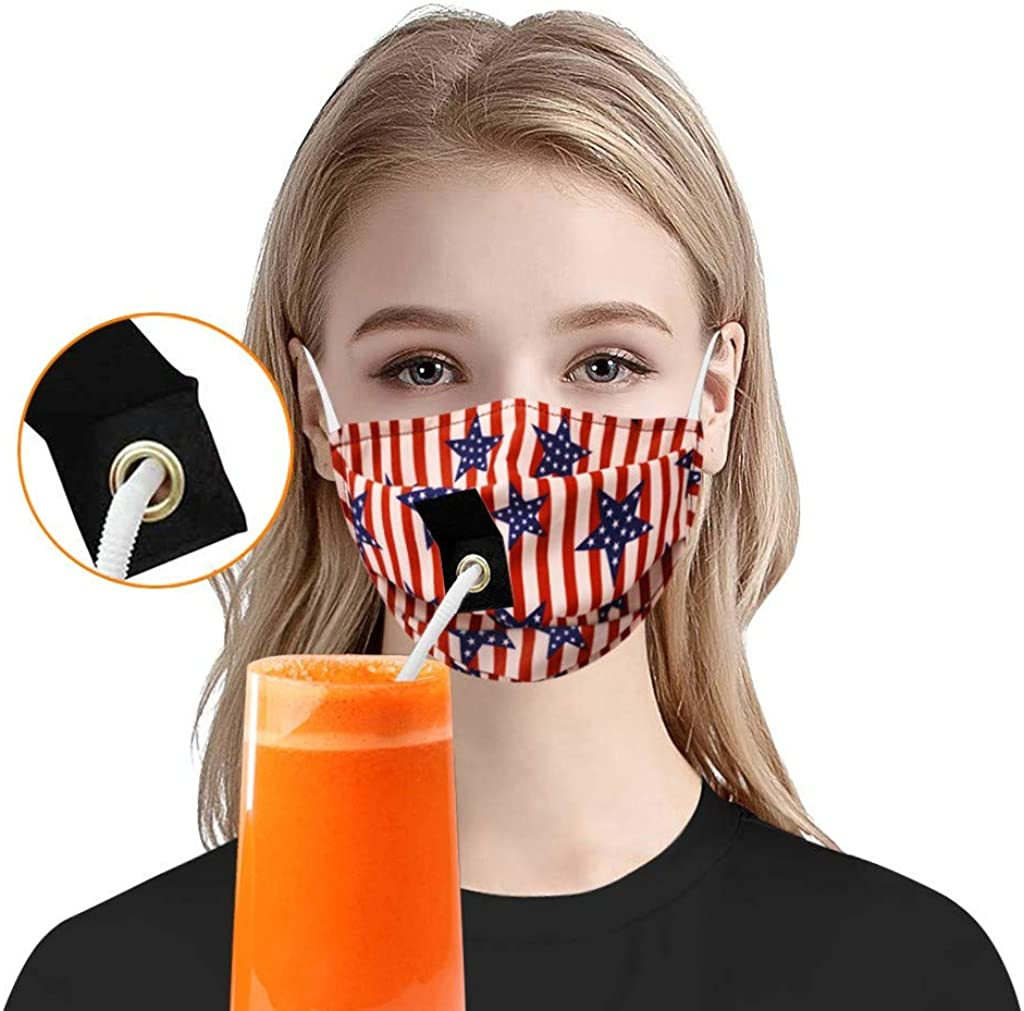 Washable Reusable Cotton Fabric Unisex Dust Cotton 【US Stock】 goalBY 1PC Fashion Protective