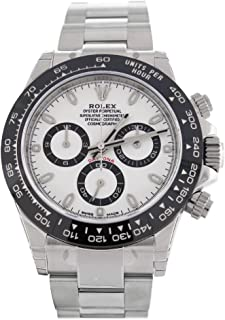 ROLEX Cosmograph Daytona White Dial Stainless Steel Oyster Men's Watch 116500