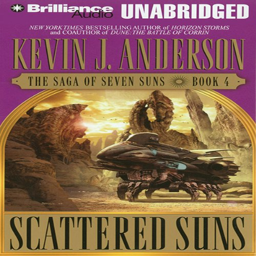 Scattered Suns audiobook cover art