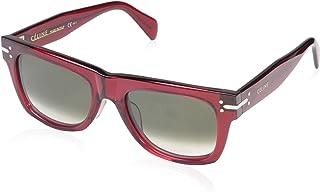 نظارات شمسية من سيلاين للنساء CL41046 باطار شفاف أحمر
