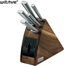 New Wiltshire 41186 Premium Staysharp 6Pc Radius Knife Block Set W/ Sharpener