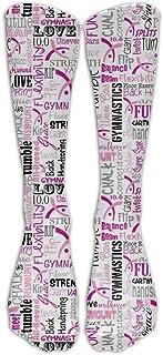 Gimnasia Calcetines de fútbol para jóvenes Calcetines de fútbol hasta la rodilla para adolescentes Calcetines largos de rayas de tubo de rugby.
