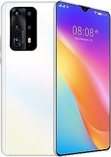 HJFGIRL Telefon komórkowy P40Pro + smartfon bez karty SIM 2 GB + 32 GB 24 megapikseli, potrójna kamera cofania 5800 mAh 7,...