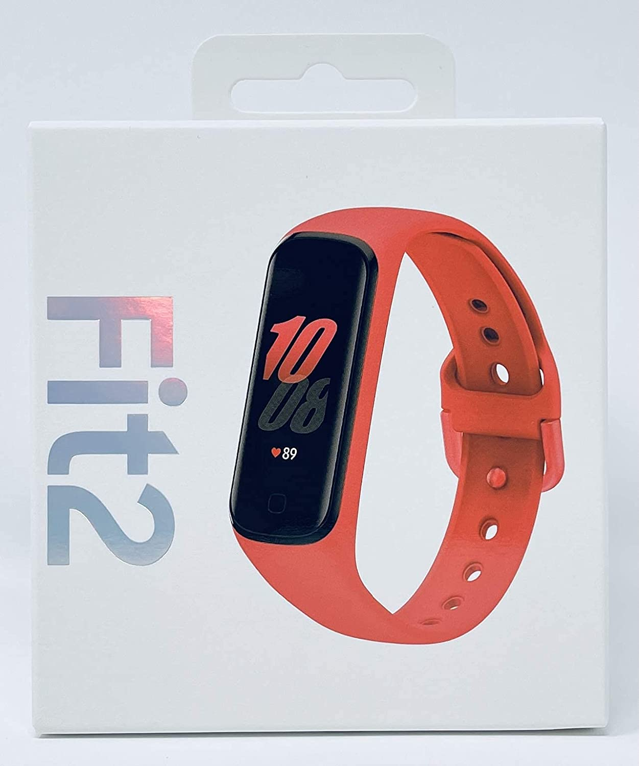 Samsung Recommendation Galaxy Fit Max 70% OFF 2 Bluetooth Tracking Band Fitness Red Smart