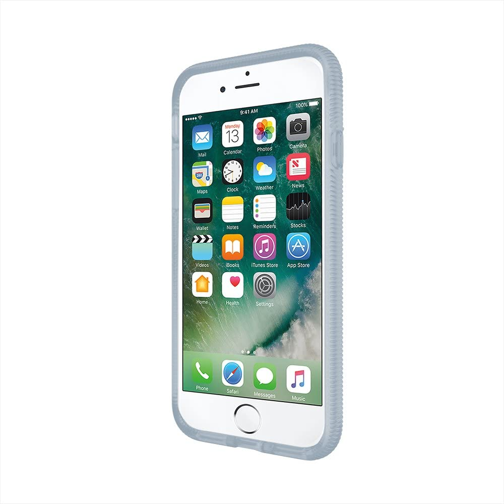 Incipio Octane iPhone 8 & iPhone 7 Case with Textured Bumper and Hard Shell Back for iPhone 8 & iPhone 7 - Frost/Pearl Blue