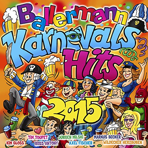 Ballermann Karnevals Hits 2015