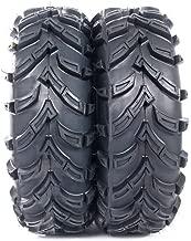 Set of 2 26x11-12 All Terrain ATV UTV Tires - 26x11x12 Rear Tubeless 6PR P377