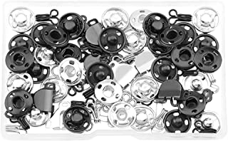 EXCEART 100 Stks Opnaaistenen Drukknopen Onzichtbare Drukknopen Knoppen Drukknop Voor Het Naaien Van Kleding Ambachten Shirts