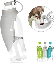 LumoLeaf Water Bottle for Dogs, Portable Dog Water Bottle, 20 Oz Pet Travel Water Bottle