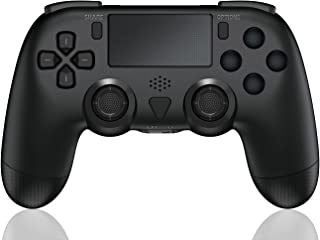 TUTUO Wireless Controller per PS4, Joystick Controller Gamepad Remote Ricaricabile con Touch pad/Indicatore LED, Sensore S...
