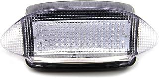 LED Bremslicht mit integrierten Blinker für Honda Cbr 600 F3 1997/1998 und VADERARO XLV 1000 1998/2004 (Klar)