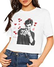 Handsome Boy Shawn Peter Raul Mendes Shirt Fashion Summer Dew Navel T-Shirt Womens with HD 3D Print