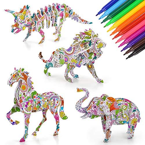 Childking DIY Pintura 3D Rompecabezas de Juguete para los niños, la imaginación Libre