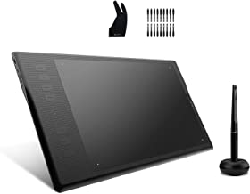 Huion Inspiroy Q11K V2 Graphic Drawing Tablet Tilt Function Battery-Free Stylus 8192 Pen Pressure with Artist Glove and 18...