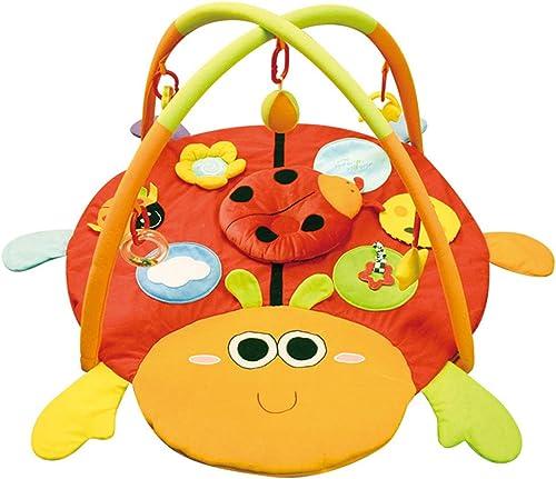 BPAEPFGG Baby Activity Krabbeldecke Spielbogen K r Kind Spiel Krabbeln Pad 0-1 Jahre Alt Baby übung Fitness Rack Multi-Funktions-Verdickung Klettermatte