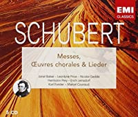 Messes, Lieder, Oeuvres Chorales by F. Schubert