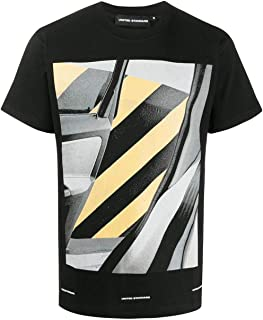 UNITED STANDARD Luxury Fashion Mens 20SUSTS08BLK Black T-Shirt | Spring Summer 20