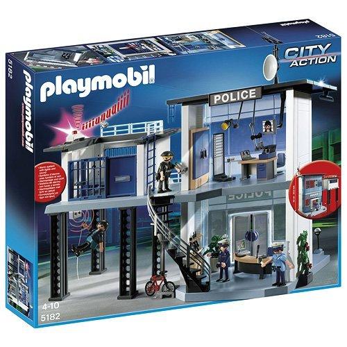 PLAYMOBIL P 5182 - Die Polizei-Komandostation mit Alarmanlage