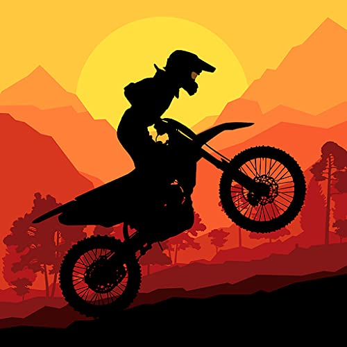 Sunset Bike Racer - Motocross Hill
