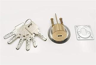 Deurslot Koperdeurslotcilinder met 6 sleutel roterende schakelaar voor deurvergrendelingscilinder vervangende onderdelen h...