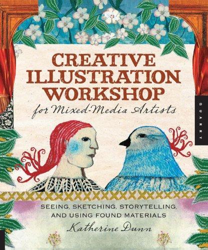 Creative Illustration Workshop for Mixed-Media Artists