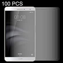 Zhouzl Mobile Phone Tempered Glass Film 100 PCS for Huawei MediaPad M2 7.0 inch 0.3mm 9H Surface Hardness Explosion-Proof Tempered Glass Film Tempered Glass Film