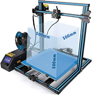 Creality 3D Printer CR-10S S5 CR-10 Plus Large Print Size 500x500x500mm FDM 3D Printer Dual Z-axis Resume Printing Filament Monitor Alarm