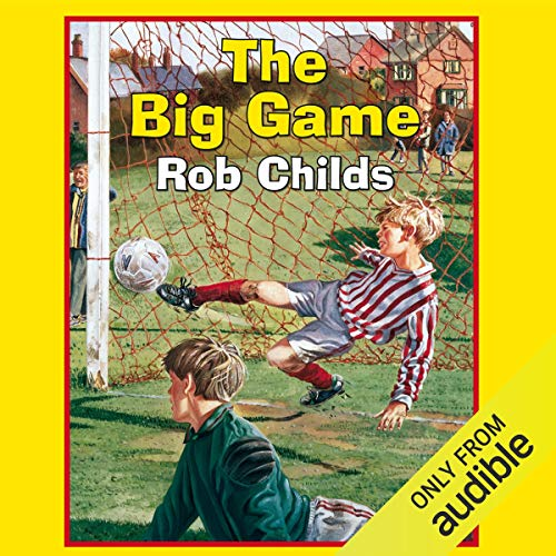 The Big Game audiobook cover art