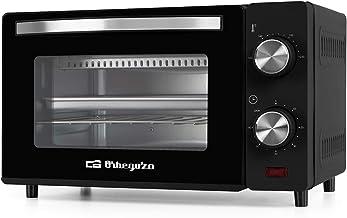 Orbegozo HO 980 Four électrique, 10 litres de capacité, chaleur supérieure et inférieure, minuteur, régulateur de températ...
