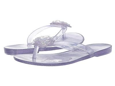 Mini Melissa Mel Harmonic V (Little Kid) (Clear Glass Glitter) Girls Shoes