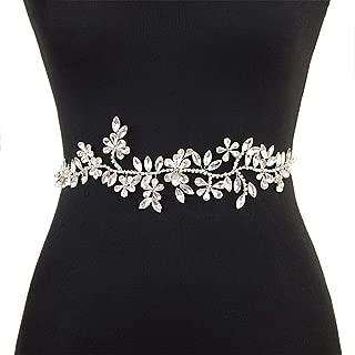 ZYDP Wedding Belt Bridal Wedding Dress Accessories Belt (Color : Purple)