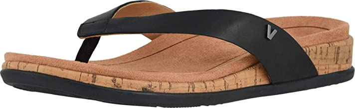 Vionic Women's Daniela Toe-Post Sandal - Ladies Sandals with Concealed Orthotic Arch Support