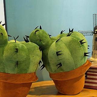 LanLan Peluche Doudou 45 cm Peluche Cactus Peluche poup/ée canap/é canap/é Coussin Oreiller Belle Maison d/écoration Enfants b/éb/é Cadeau Green 45cm