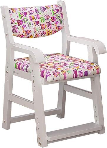 ch-AIR Kinder-Lernstuhl Esszimmerstühle Sessel Sitz, korrigierende Sitzhaltung Anti-Myopie-Buckel h nverstellbar, aus Holz, für Zuhause Computertisch Arbeitszimmer, 3 Farben