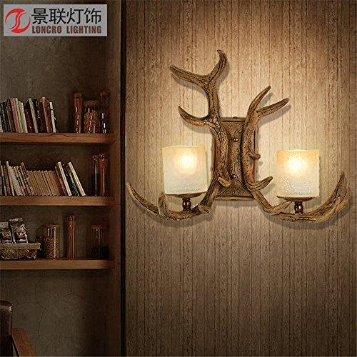 YU-K Chambre lampe de chevet rétro minimaliste lampe murale mur salon lampadaires dans l'étude du corridor routier de la barre d'éclairage de mur au dessus du lit, balcon courtyard wall lamp