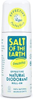 Natural Deodorant w kulce od Salt of the Earth, bez zapachu, wegański, długotrwała ochrona, zatwierdzony przez Leaping Bun...