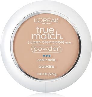 L'Oréal Paris True Match Super-Blendable Powder, Natural Ivory, 0.33 oz.
