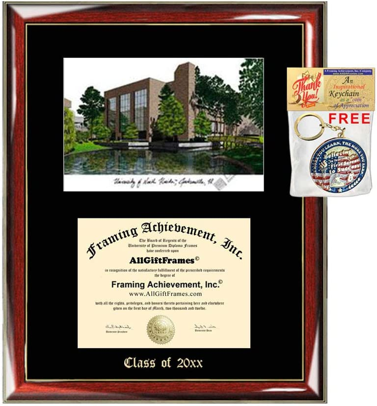 University of North Florida Diploma Lithograph Frame Challenge the Max 48% OFF lowest price Japan UNF Emboss