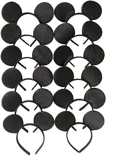 Tumao Diadema de Orejas, 12 Pack Fajines de Disfraz de