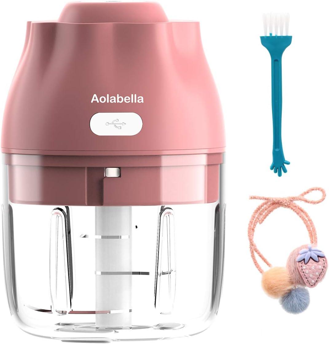 Aolabella Electric Mini Garlic Chopper , mini food blender,mini