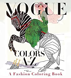 vogue the history of fashion coloring book