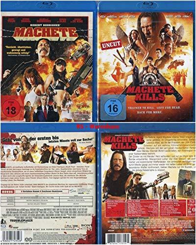 Machete + Machete Kills (Teil 1+2) [Blu-ray Set]