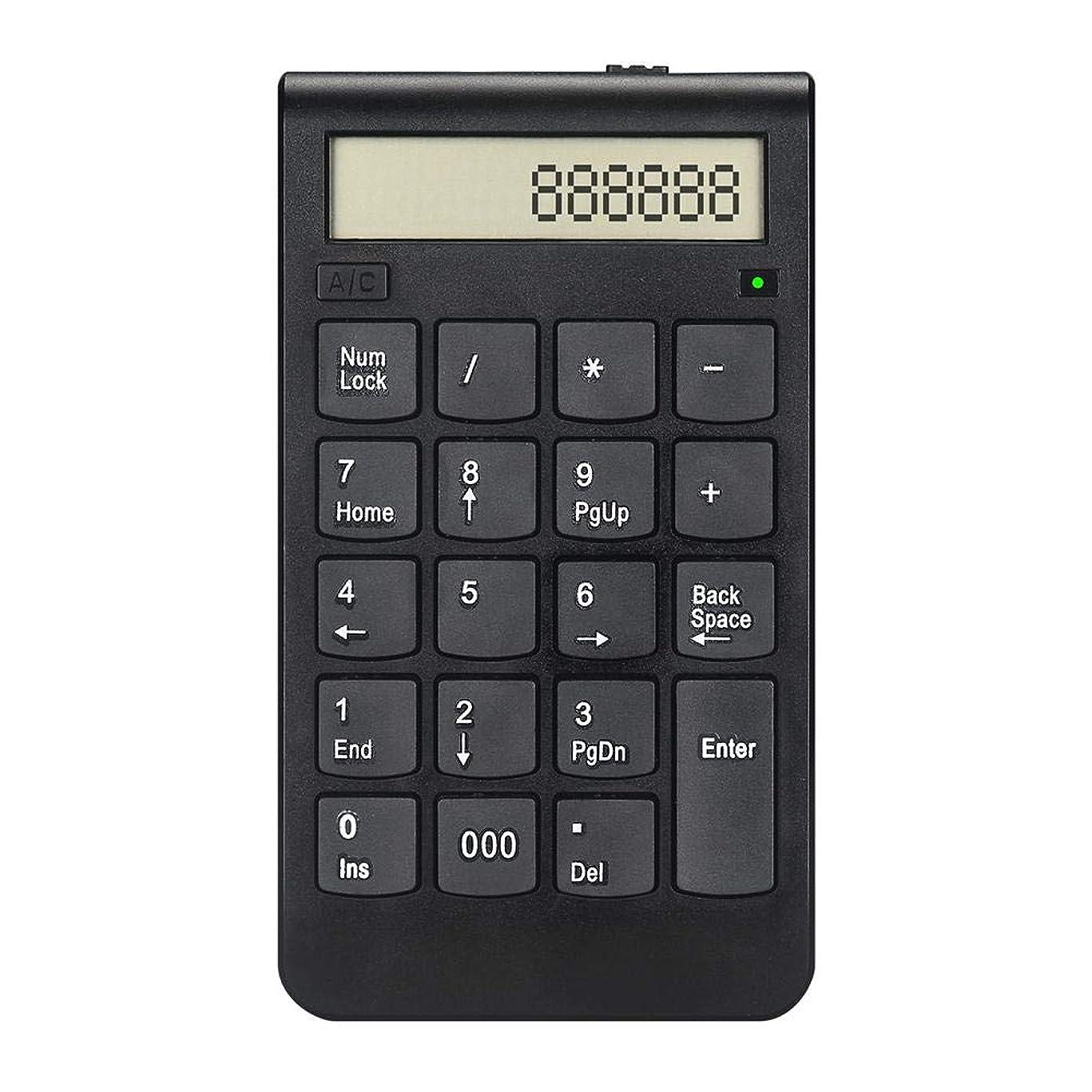 スクラップブック舌なキャラバンnattiness 数字キーパッド 計算機 2.4G 数字キーパッド 超薄型デザイン 数字キーパッド USB数字キーパッド