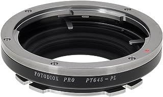 Fotodiox Pro–Adaptador de montura de lentes para ARRI Pl Pentax 645(P645) (Positivo Lock) para cámaras (como Arri Alexa Arriflex D-21 Canon C300 Aja cion Blackmagic Ursa Blackmagic Cinema Camera)