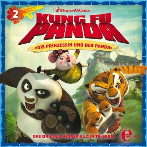 Die Prinzessin und der Panda / Held und Helferlein. Das Original-Hörspiel zur TV-Serie Titelbild
