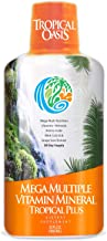 Tropical Oasis Mega Plus – Liquid Multivitamin and Mineral Supplement – Includes..